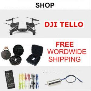 DJI Tello Accessories Shop