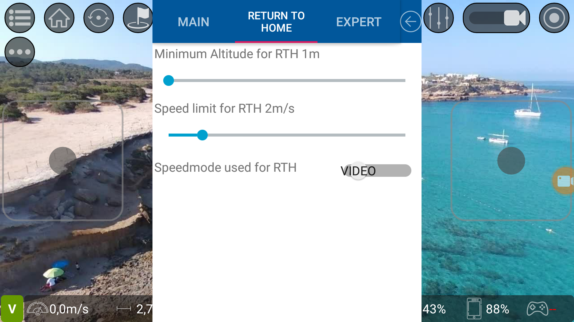 TelloFPV for Android - Autopilots, Home return and more for your Tello!