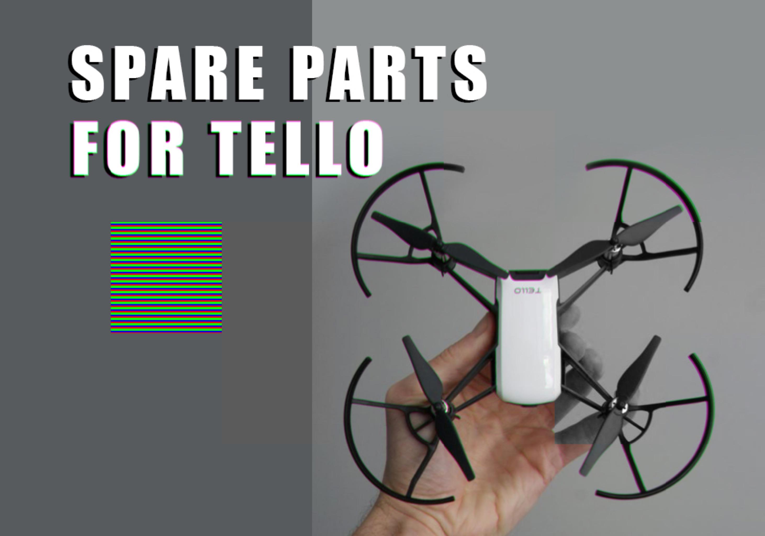 Spare Parts for Tello - Dji Ryze Tello Fun Blog